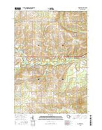 Marathon Wisconsin Current topographic map, 1:24000 scale, 7.5 X 7.5 Minute, Year 2015 from Wisconsin Map Store
