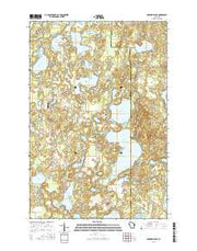 McKenzie Lake Wisconsin Current topographic map, 1:24000 scale, 7.5 X 7.5 Minute, Year 2015 from Wisconsin Maps Store