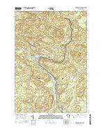 Miscauno Island Wisconsin Current topographic map, 1:24000 scale, 7.5 X 7.5 Minute, Year 2016 from Wisconsin Map Store