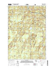 Morse Wisconsin Current topographic map, 1:24000 scale, 7.5 X 7.5 Minute, Year 2015 from Wisconsin Maps Store