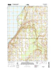 Namur Wisconsin Current topographic map, 1:24000 scale, 7.5 X 7.5 Minute, Year 2015 from Wisconsin Maps Store