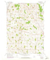 Nenno Wisconsin Historical topographic map, 1:24000 scale, 7.5 X 7.5 Minute, Year 1959