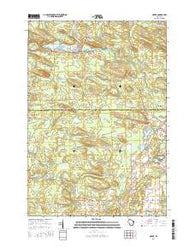 Neopit Wisconsin Current topographic map, 1:24000 scale, 7.5 X 7.5 Minute, Year 2016