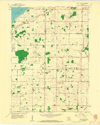 North Cape Wisconsin Historical topographic map, 1:24000 scale, 7.5 X 7.5 Minute, Year 1959