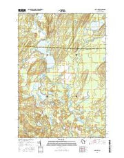 Post Lake Wisconsin Current topographic map, 1:24000 scale, 7.5 X 7.5 Minute, Year 2015 from Wisconsin Maps Store
