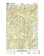 Reservoir Pond Wisconsin Current topographic map, 1:24000 scale, 7.5 X 7.5 Minute, Year 2015 from Wisconsin Maps Store
