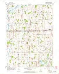 Richwood Wisconsin Historical topographic map, 1:24000 scale, 7.5 X 7.5 Minute, Year 1959