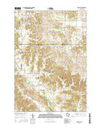 Ridgeland Wisconsin Current topographic map, 1:24000 scale, 7.5 X 7.5 Minute, Year 2015 from Wisconsin Map Store