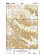 Ridgeland NE Wisconsin Current topographic map, 1:24000 scale, 7.5 X 7.5 Minute, Year 2015 from Wisconsin Map Store