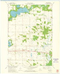 Rusk Wisconsin Historical topographic map, 1:24000 scale, 7.5 X 7.5 Minute, Year 1972