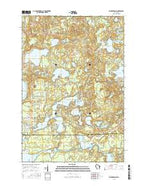 Saint Germain Wisconsin Current topographic map, 1:24000 scale, 7.5 X 7.5 Minute, Year 2015 from Wisconsin Map Store