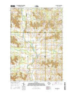 Sand Creek Wisconsin Current topographic map, 1:24000 scale, 7.5 X 7.5 Minute, Year 2015 from Wisconsin Map Store