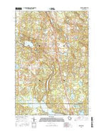 Sarona Wisconsin Current topographic map, 1:24000 scale, 7.5 X 7.5 Minute, Year 2015 from Wisconsin Map Store