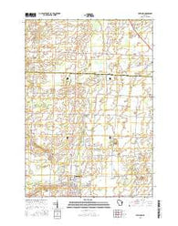 Seymour Wisconsin Current topographic map, 1:24000 scale, 7.5 X 7.5 Minute, Year 2016