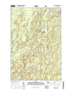 Shanagolden Wisconsin Current topographic map, 1:24000 scale, 7.5 X 7.5 Minute, Year 2015 from Wisconsin Map Store