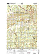South Range Wisconsin Current topographic map, 1:24000 scale, 7.5 X 7.5 Minute, Year 2015 from Wisconsin Map Store