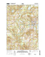 Spooner Wisconsin Current topographic map, 1:24000 scale, 7.5 X 7.5 Minute, Year 2015 from Wisconsin Map Store