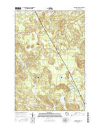 Stanberry West Wisconsin Current topographic map, 1:24000 scale, 7.5 X 7.5 Minute, Year 2015 from Wisconsin Map Store