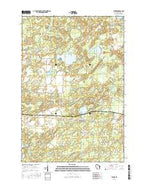 Starks Wisconsin Current topographic map, 1:24000 scale, 7.5 X 7.5 Minute, Year 2015 from Wisconsin Map Store