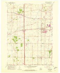 Sturtevant Wisconsin Historical topographic map, 1:24000 scale, 7.5 X 7.5 Minute, Year 1959