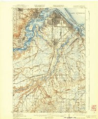 Superior Minnesota Historical topographic map, 1:62500 scale, 15 X 15 Minute, Year 1917