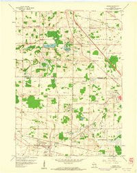 Sussex Wisconsin Historical topographic map, 1:24000 scale, 7.5 X 7.5 Minute, Year 1959
