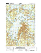 Turtle-Flambeau Flowage Wisconsin Current topographic map, 1:24000 scale, 7.5 X 7.5 Minute, Year 2015 from Wisconsin Map Store