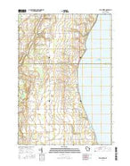 Two Creeks Wisconsin Current topographic map, 1:24000 scale, 7.5 X 7.5 Minute, Year 2015 from Wisconsin Map Store