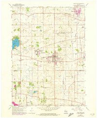 Union Grove Wisconsin Historical topographic map, 1:24000 scale, 7.5 X 7.5 Minute, Year 1960