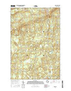 Upson Wisconsin Current topographic map, 1:24000 scale, 7.5 X 7.5 Minute, Year 2015 from Wisconsin Map Store