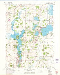Waterford Wisconsin Historical topographic map, 1:24000 scale, 7.5 X 7.5 Minute, Year 1959