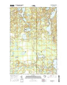 Winchester Wisconsin Current topographic map, 1:24000 scale, 7.5 X 7.5 Minute, Year 2015
