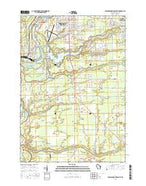 Wisconsin Rapids South Wisconsin Current topographic map, 1:24000 scale, 7.5 X 7.5 Minute, Year 2015 from Wisconsin Map Store