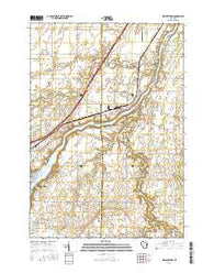 Wrightstown Wisconsin Current topographic map, 1:24000 scale, 7.5 X 7.5 Minute, Year 2016