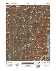 Adolph West Virginia Historical topographic map, 1:24000 scale, 7.5 X 7.5 Minute, Year 2011