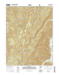 Adolph West Virginia Current topographic map, 1:24000 scale, 7.5 X 7.5 Minute, Year 2016