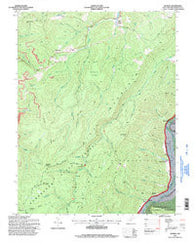 Adolph West Virginia Historical topographic map, 1:24000 scale, 7.5 X 7.5 Minute, Year 1995