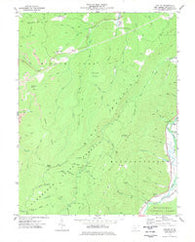 Adolph West Virginia Historical topographic map, 1:24000 scale, 7.5 X 7.5 Minute, Year 1977