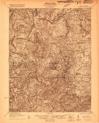 Alderson West Virginia Historical topographic map, 1:48000 scale, 15 X 15 Minute, Year 1921