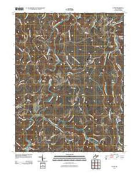 Alton West Virginia Historical topographic map, 1:24000 scale, 7.5 X 7.5 Minute, Year 2010