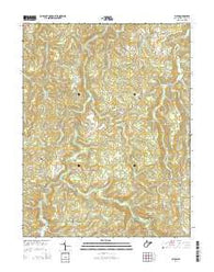 Alton West Virginia Historical topographic map, 1:24000 scale, 7.5 X 7.5 Minute, Year 2014