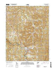 Belington West Virginia Current topographic map, 1:24000 scale, 7.5 X 7.5 Minute, Year 2016