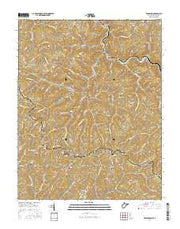 Bradshaw West Virginia Current topographic map, 1:24000 scale, 7.5 X 7.5 Minute, Year 2016 from West Virginia Maps Store