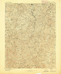 Buckhannon West Virginia Historical topographic map, 1:125000 scale, 30 X 30 Minute, Year 1893