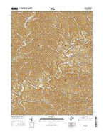 Cairo West Virginia Current topographic map, 1:24000 scale, 7.5 X 7.5 Minute, Year 2016 from West Virginia Map Store