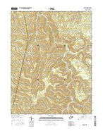 Cassity West Virginia Current topographic map, 1:24000 scale, 7.5 X 7.5 Minute, Year 2016 from West Virginia Map Store