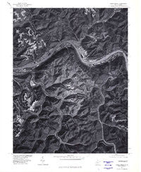 Cedar Grove West Virginia Historical topographic map, 1:24000 scale, 7.5 X 7.5 Minute, Year 1977