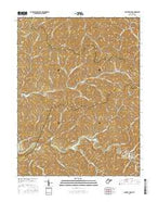 Center Point West Virginia Current topographic map, 1:24000 scale, 7.5 X 7.5 Minute, Year 2016 from West Virginia Map Store