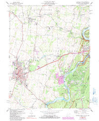 Charles Town West Virginia Historical topographic map, 1:24000 scale, 7.5 X 7.5 Minute, Year 1978