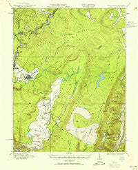 Davis West Virginia Historical topographic map, 1:62500 scale, 15 X 15 Minute, Year 1919